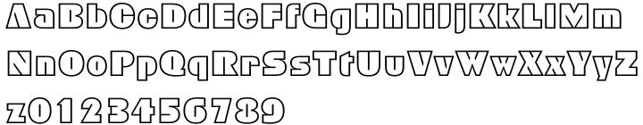 Geometric 885 Font Sample