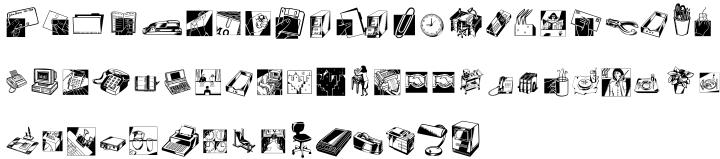 Industrials™ Font Sample