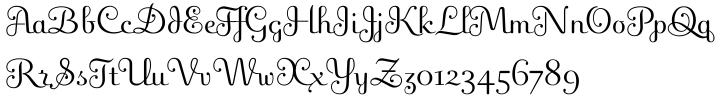 Fling™ Font Sample