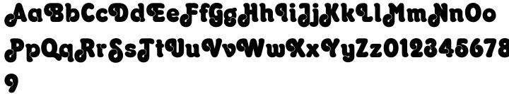 Octopuss™ Font Sample