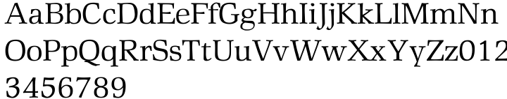 Rustika™ Font Sample