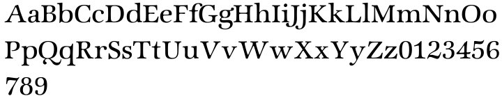ITC Zapf International® Font Sample