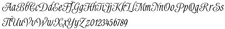 Alys™ Font Sample