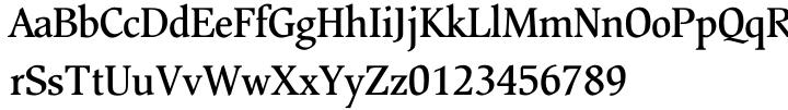 Beckenham™ Font Sample