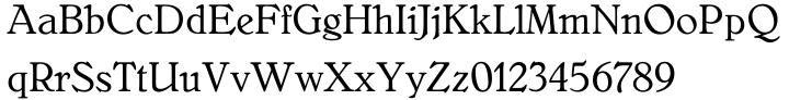 Bellini™ Font Sample