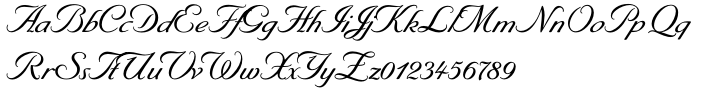 Byron™ Font Sample