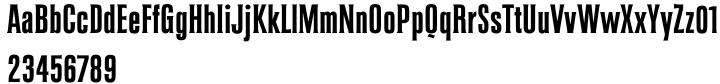 Coliseum™ Font Sample