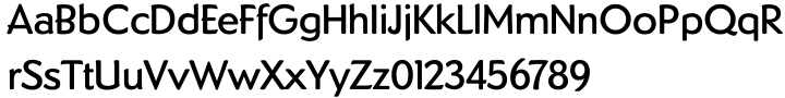 Dundee™ Font Sample