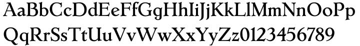 Erasmus™ Font Sample