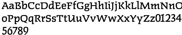 Faust™ Font Sample