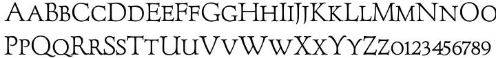 Forum Titling™ Font Sample