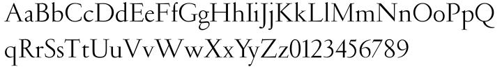 Garamond (Ludlow)™ Font Sample