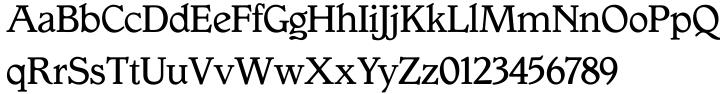 Gargoyle™ Font Sample