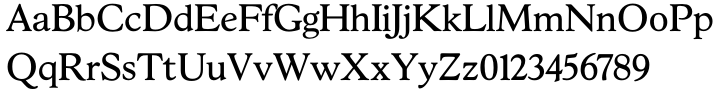 Hess Old Style™ Font Sample