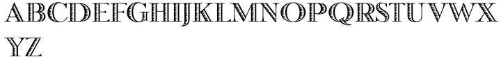 Honduras™ Font Sample