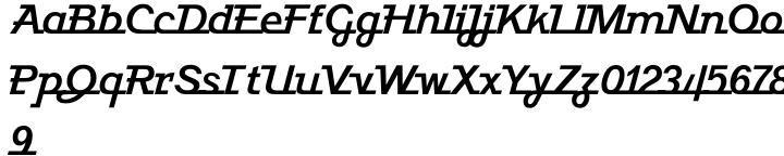 Javelin™ Font Sample