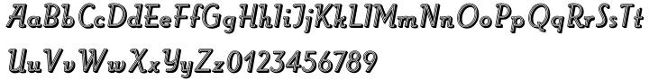 Roller™ Font Sample