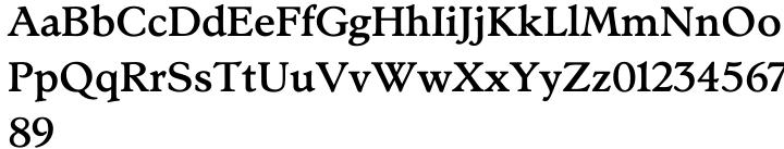 Stanhope™ Font Sample