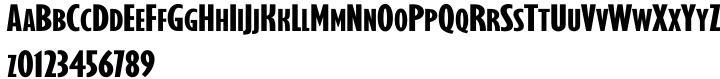 Gilmore Sans™ Font Sample