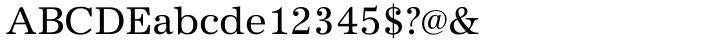 URW Antiqua™ Font Sample