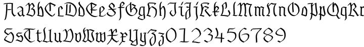 Gothamburg Font Sample
