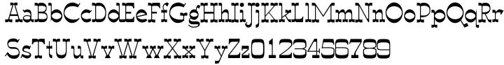 Wyoming Macroni™ Font Sample