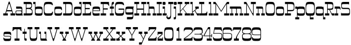 Wyoming Pastad™ Font Sample