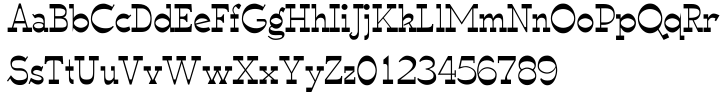 WyomingSpaghetti™ Font Sample