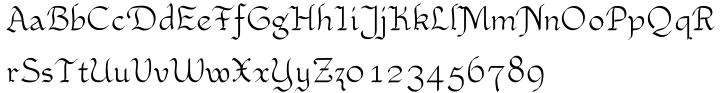 Xaltid™ Font Sample