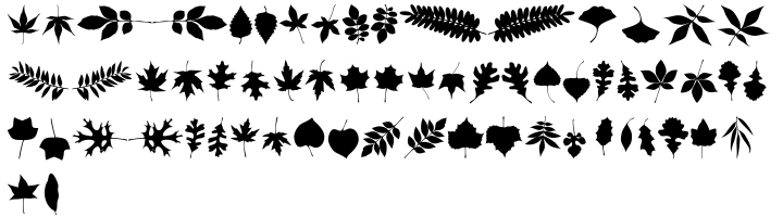XLeefMeAlone™ Font Sample