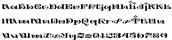 Django Font Sample