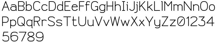 Doctarine Font Sample
