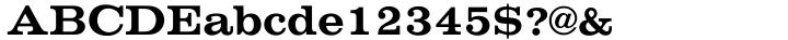 Volta® Font Sample