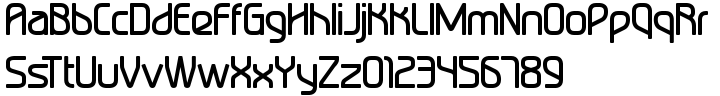 Turbo Font Sample