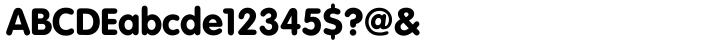 VAG Rundschrift™ Font Sample