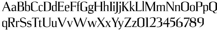 Ulian™ Font Sample