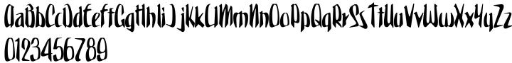 Spaceboy Font Sample