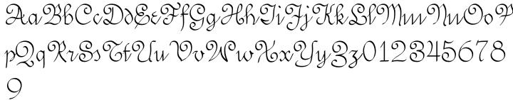 SwirlityScript™ Font Sample