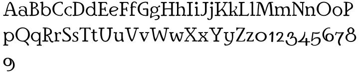 Ingriana™ Font Sample