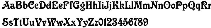 Victorian™ Font Sample