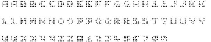 Hein TX4 InType™ Font Sample