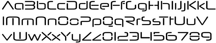 Neuropol Nova™ Font Sample