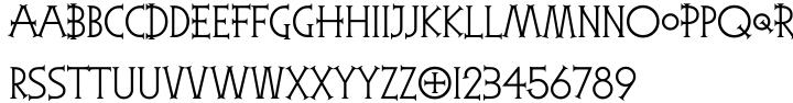 Reaper™ Font Sample