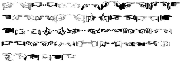 XPhyngern Font Sample