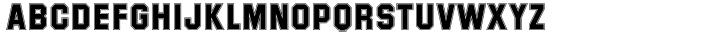Superstar™ Font Sample