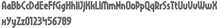 Pritchard™ Font Sample