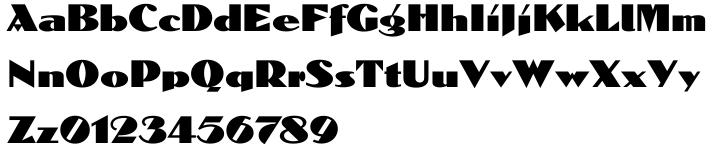 Dolmen™ Font Sample
