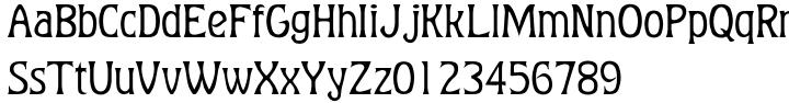 Baumfuss™ Font Sample