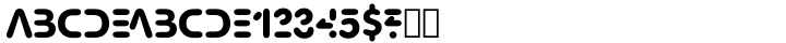 Tricky™ Font Sample