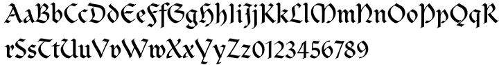Clairvaux™ Font Sample